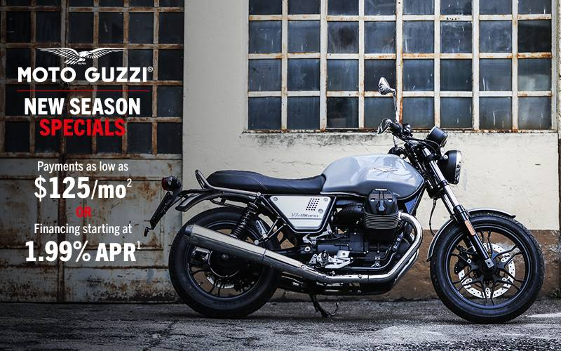 Moto Guzzi - New Season Specials