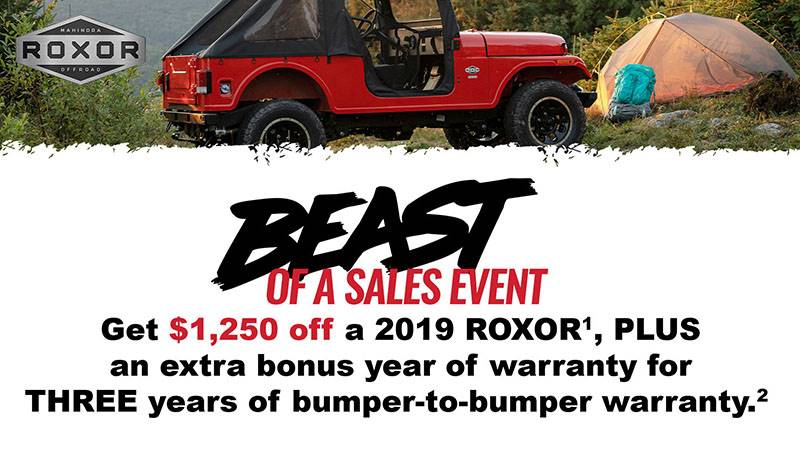 Mahindra Roxor - Beast of A Sales Event