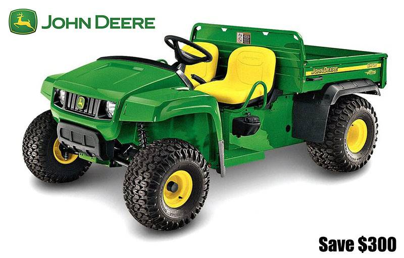 John Deere - Save $300 on Traditional Gator UTVs