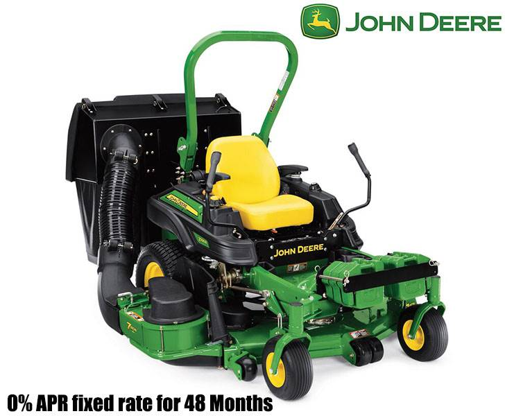 John Deere - 0% APR fixed rate for 48 Months on Commercial ZTrak Zero-Turn Mowers