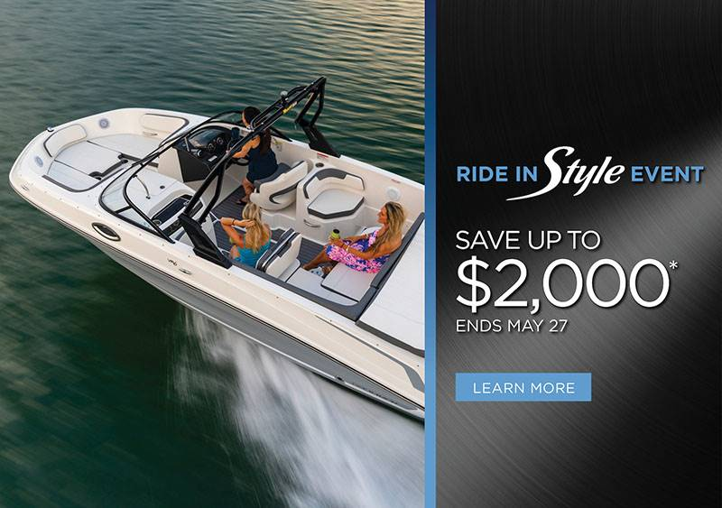 Bayliner - Ride in Style Event Save up to $2,000