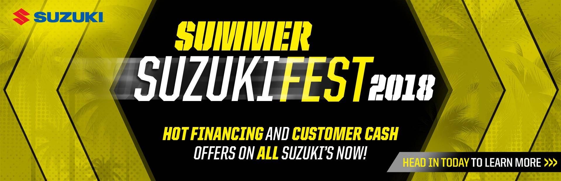 Suzuki - Summer Suzuki Fest for Cruiser and Touring