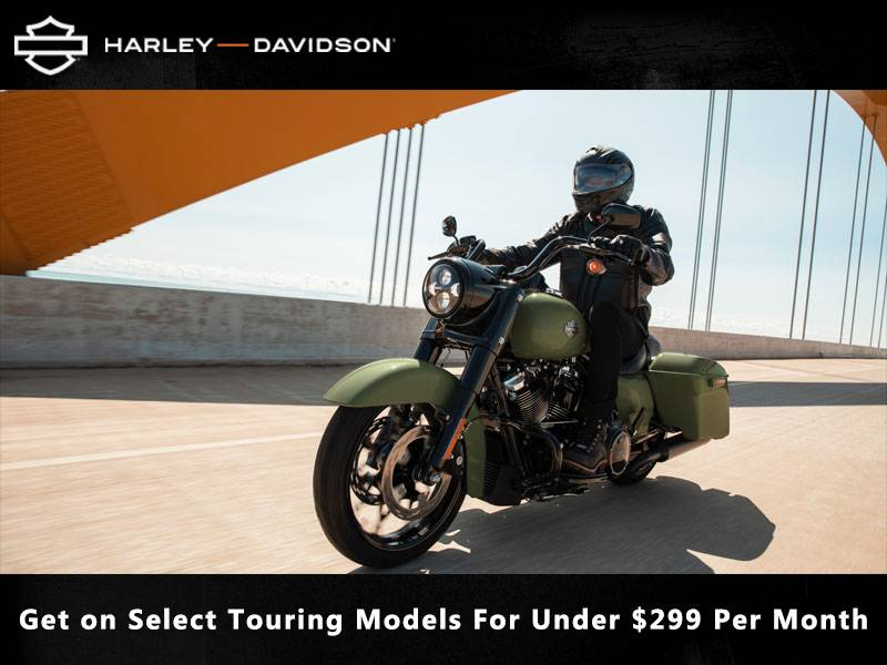 Harley-Davidson - Get on Select Touring Models For Under $299 Per Month