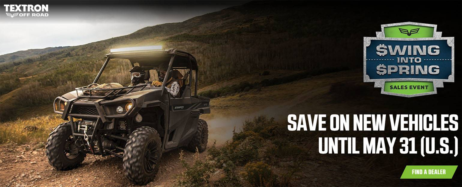 Bad Boy (Textron) Off Road - Swing Into Spring