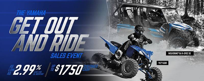 Yamaha Side-by-Side - Current Offers & Financing