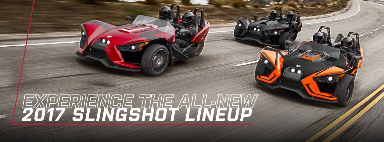 Slingshot 3.99% APR for 36 Months for MY17 Models
