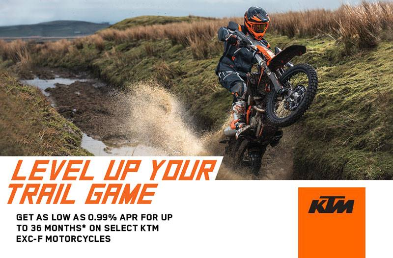 KTM - Level Up Your Trail Game