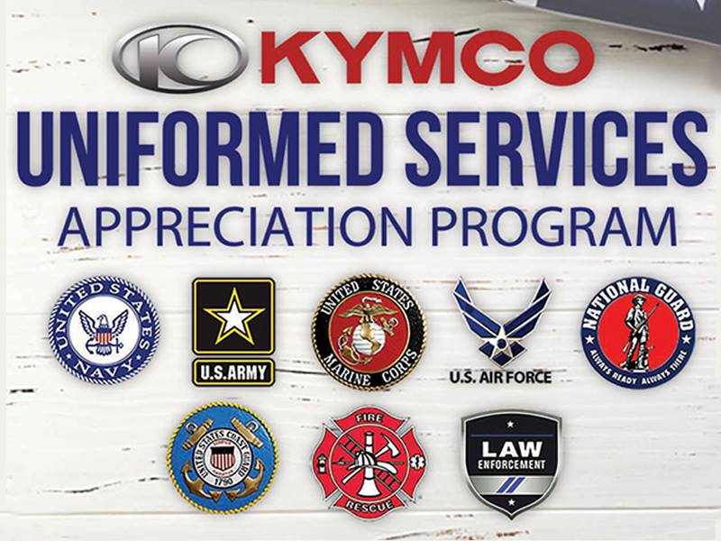 Kymco - Uniformed Services Appreciation Program
