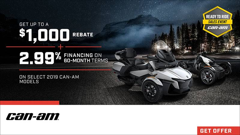 Can-Am On-Road - Ready To Ride Sales Event