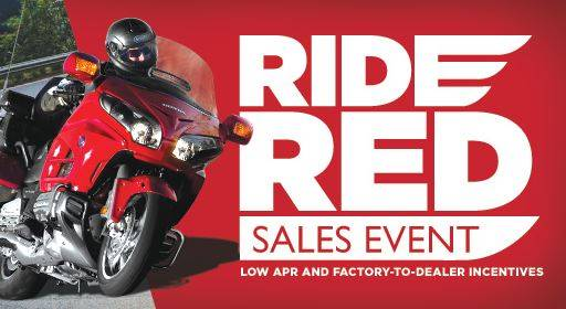 Honda - Ride Red Sales Event Up to 3.99% APR on Select Models