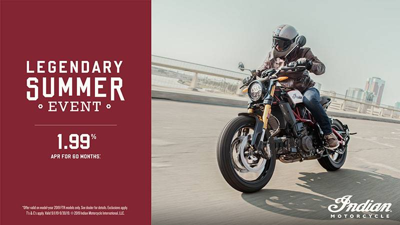 Indian - 2019 FTR 1200 Promotional Financing