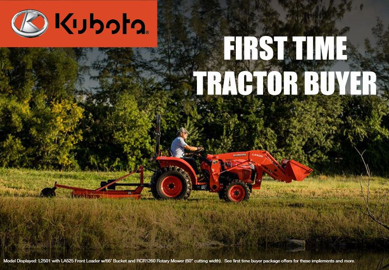 Kubota - First Time Tractor Buyer