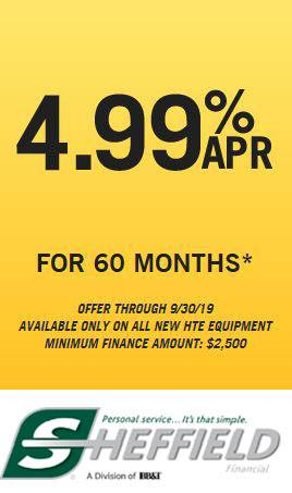 Hustler Turf Equipment - 4.99% APR for 60 Months