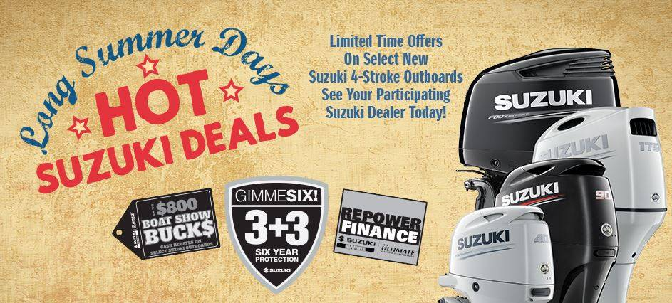 Suzuki Long Summer Days, Hot Suzuki Deals