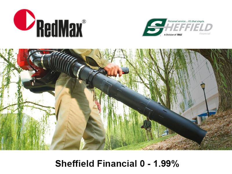 RedMax - Sheffield Financial 0 - 1.99%