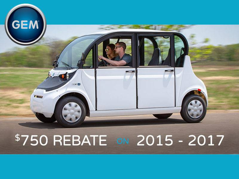 GEM - Rebate and Financing Offers