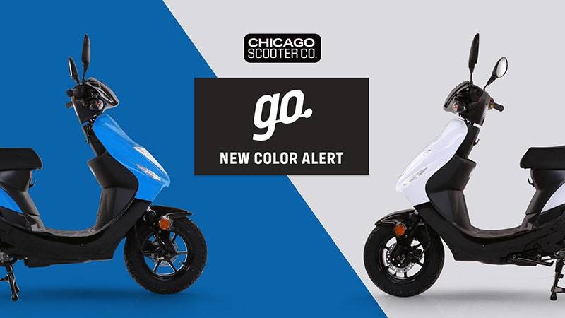 Chicago Scooter Company - Go New Color Alert