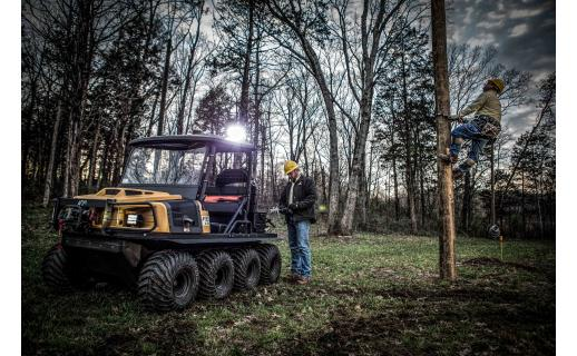 2017 Argo Conquest 8x8 Lineman XTi in Francis Creek, Wisconsin