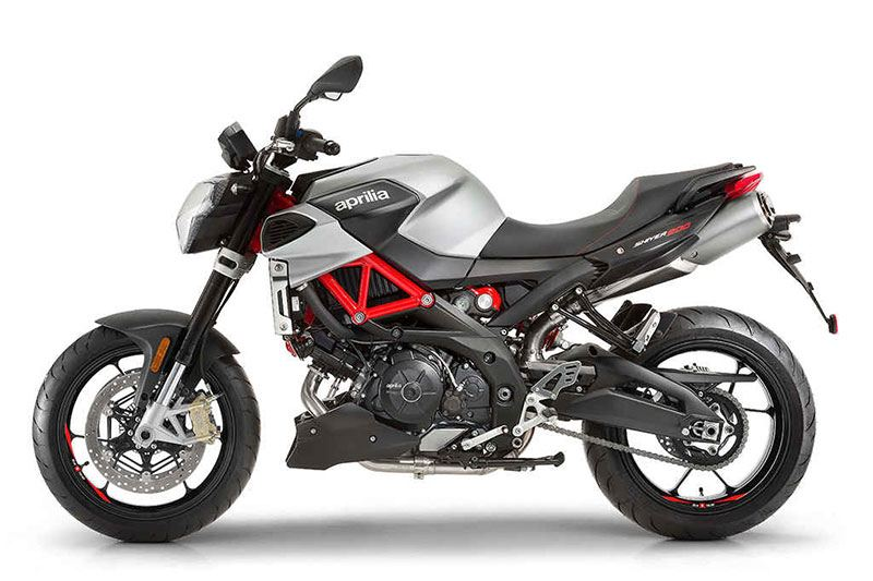 2017 Aprilia Shiver 900 in Goshen, New York