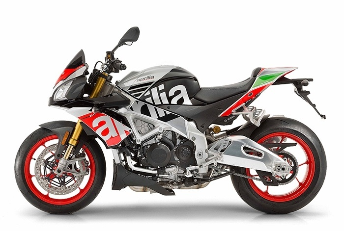 2017 Aprilia Tuono V4 Factory 1100 ABS in Orange, California