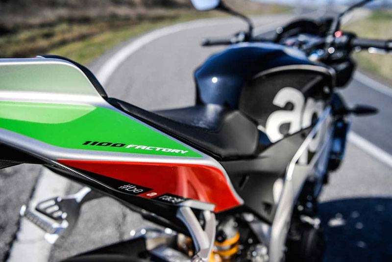 2017 Aprilia Tuono V4 Factory 1100 ABS in Oakland, California