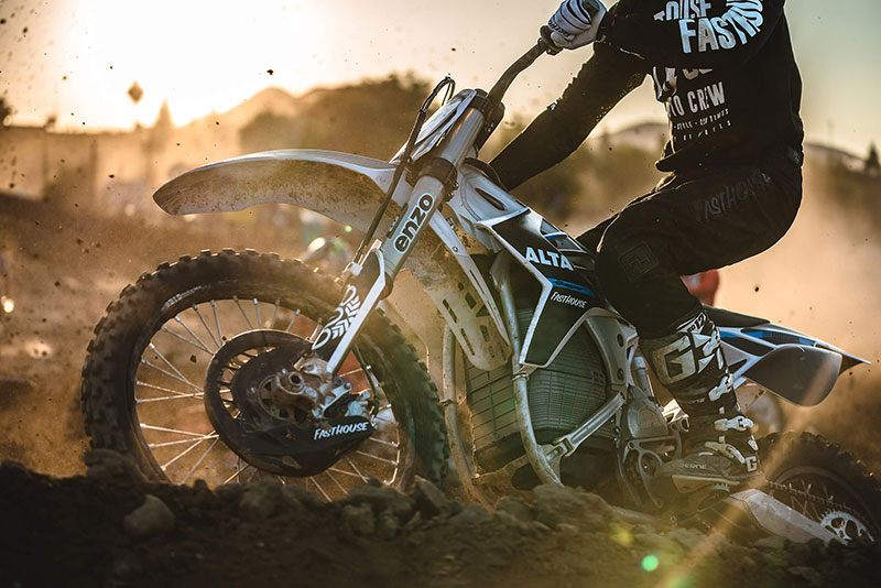 2018 Alta Motors Redshift MX in Garberville, California