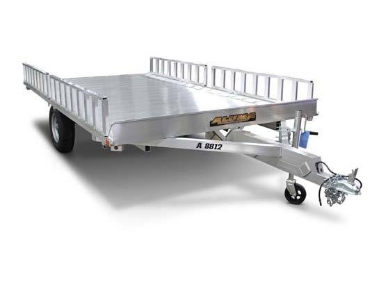 Actual trailer has tandem axles