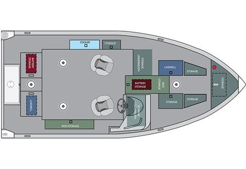 2016 Alumacraft Competitor 175 CS in Trego, Wisconsin
