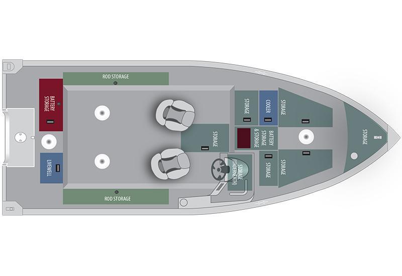 2016 Alumacraft Voyageur 175 CS in Trego, Wisconsin