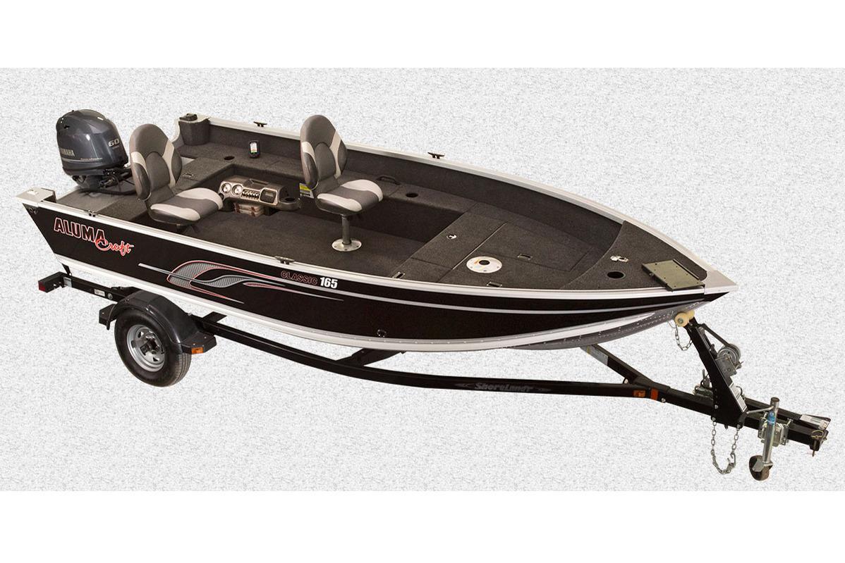 2016 Alumacraft Classic 165 Tiller Power Boats Outboard