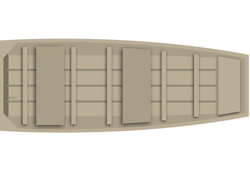 2016 Alumacraft Sierra MV 1236 in Trego, Wisconsin