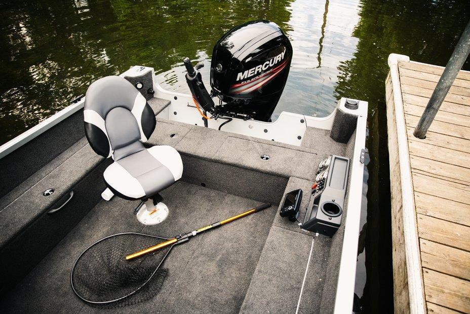 2017 Alumacraft Voyageur 175 Tiller in Lake City, Florida