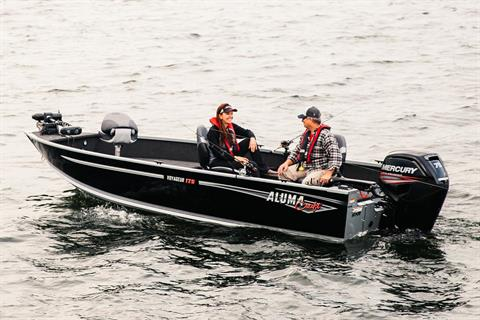 2017 Alumacraft Voyageur 175 Tiller in Black River Falls, Wisconsin