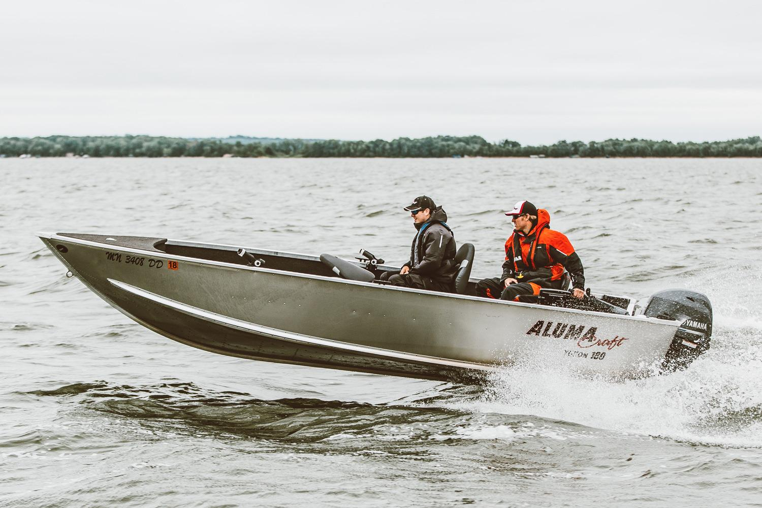 2017 Alumacraft Yukon 180 in Superior, Wisconsin