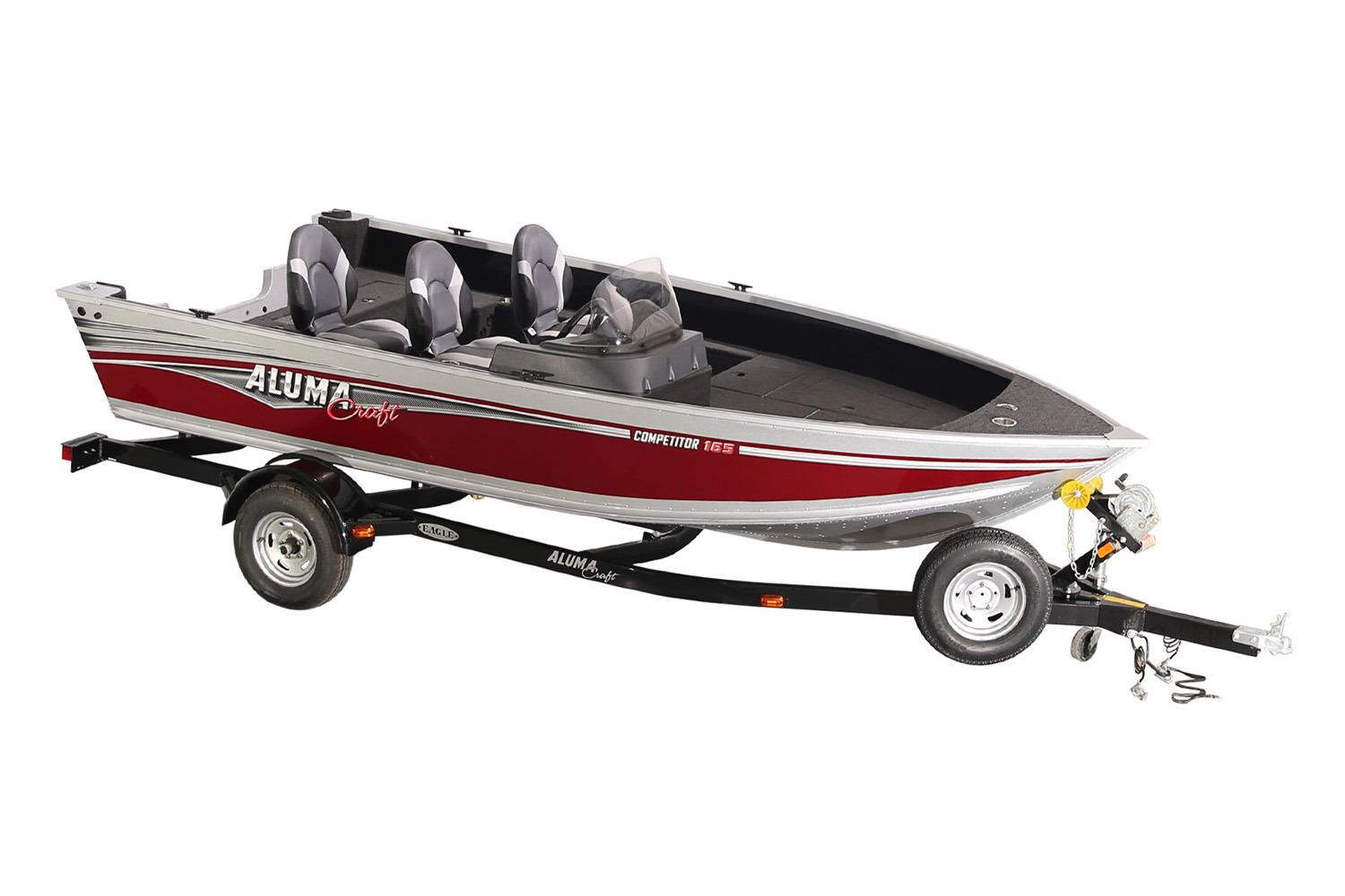 2018 Alumacraft Competitor 165 CS in Lakeport, California