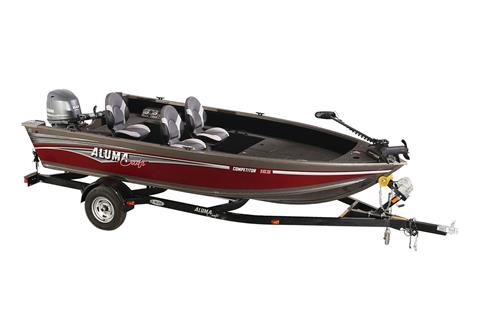 2018 Alumacraft Competitor 165 Tiller in Lake City, Florida