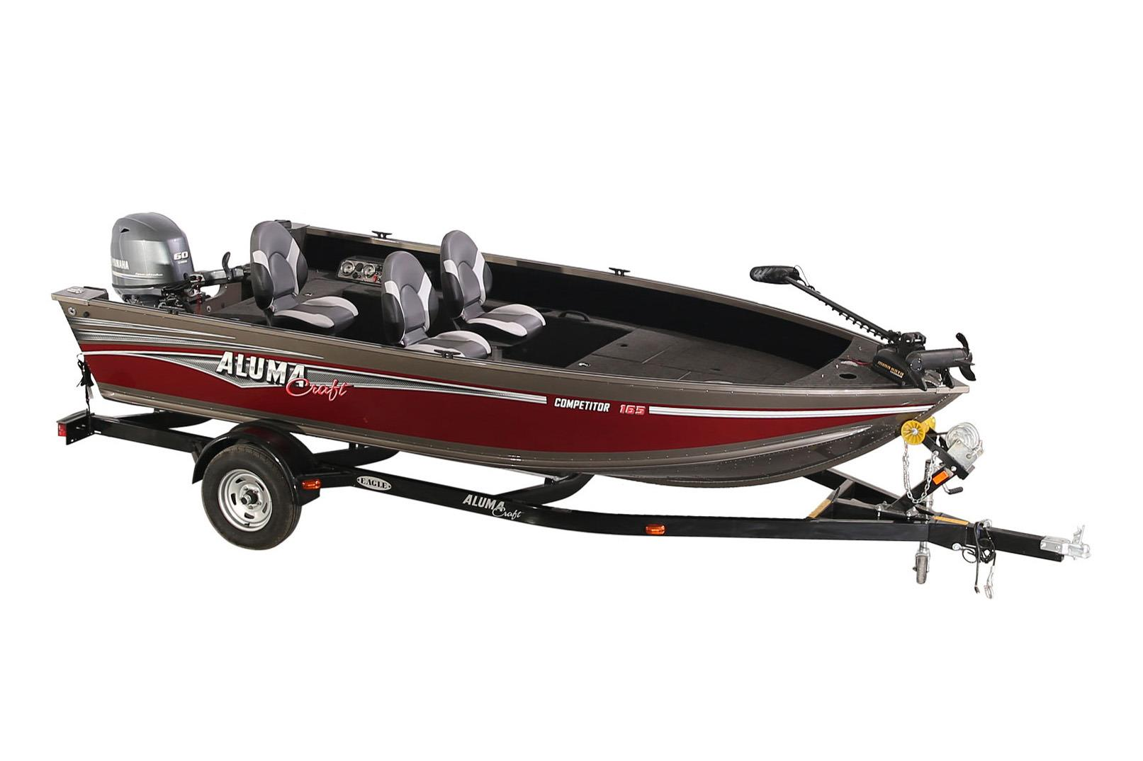 2018 Alumacraft Competitor 165 Tiller in West Monroe, Louisiana