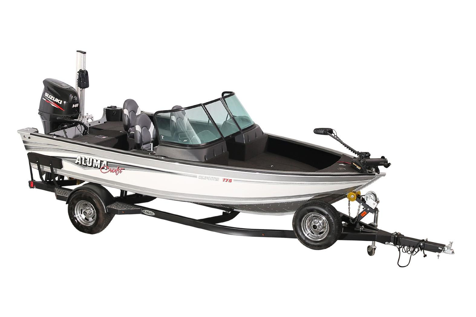 2018 Alumacraft Competitor 175 Sport in Black River Falls, Wisconsin