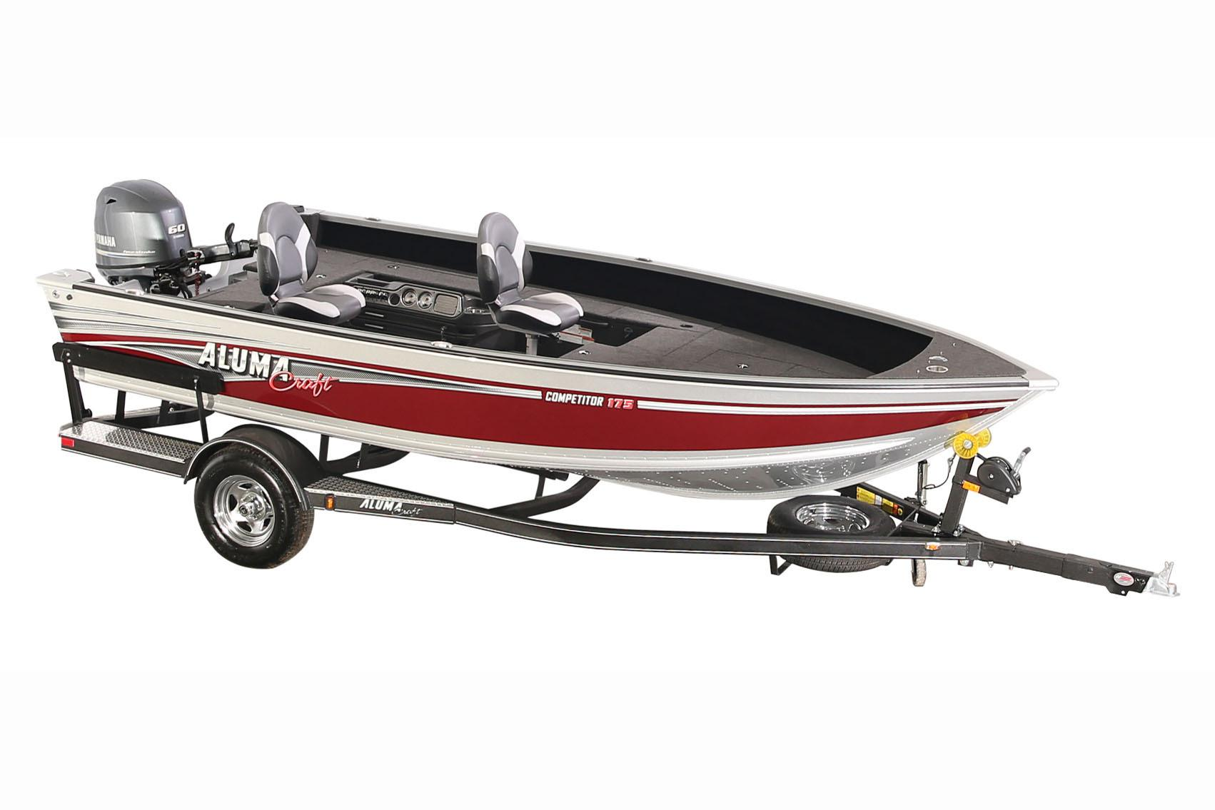 2018 Alumacraft Competitor 175 Tiller in Black River Falls, Wisconsin