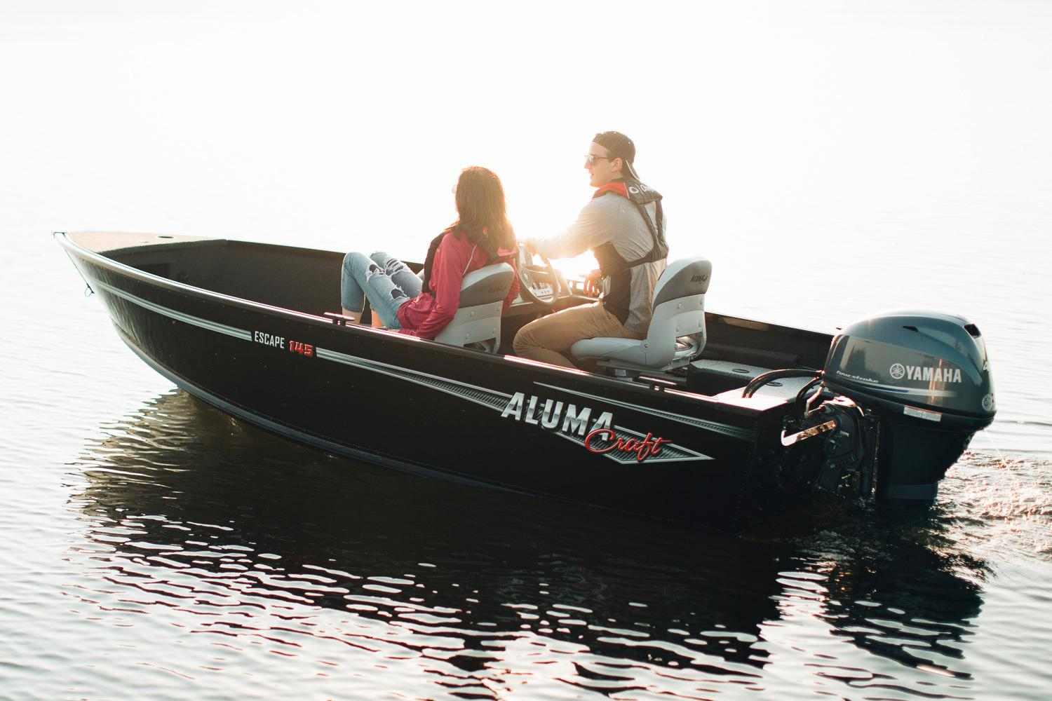 2018 Alumacraft Escape 145 CS in Lake City, Florida