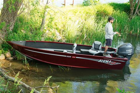 2018 Alumacraft Escape 165 Tiller in Hutchinson, Minnesota