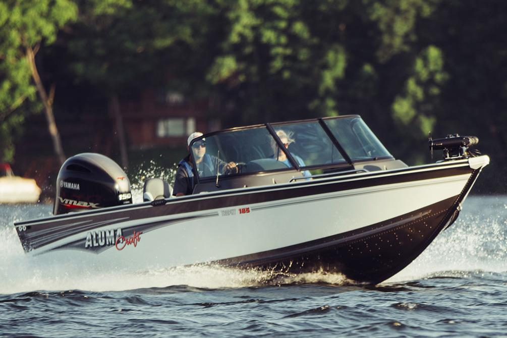 2018 Alumacraft Trophy 185 in Black River Falls, Wisconsin