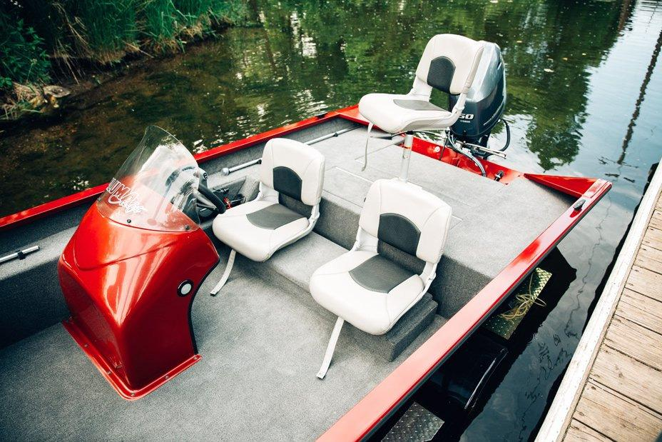 2018 Alumacraft Prowler 165 in Black River Falls, Wisconsin