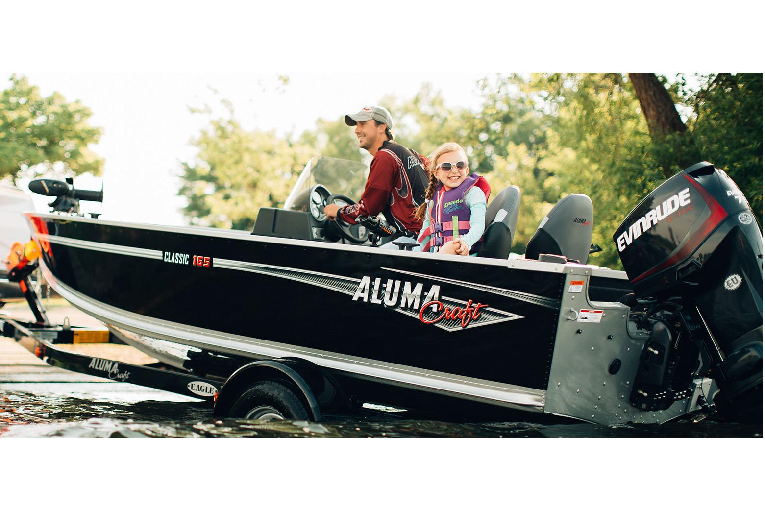 2018 Alumacraft Classic 165 CS in Lakeport, California