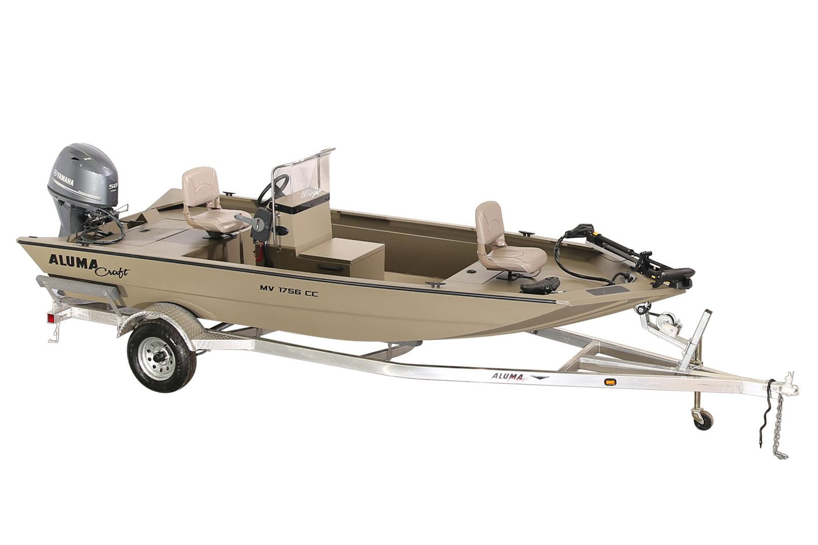2018 Alumacraft MV 1756 AW CC in Newberry, South Carolina