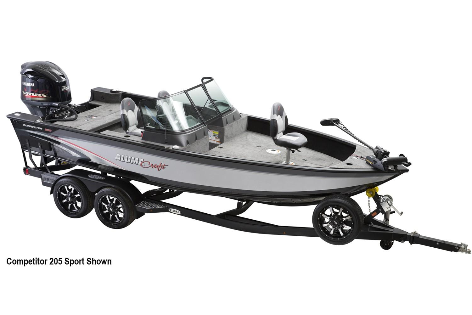 2019 Alumacraft Competitor 205 CS in Lakeport, California - Photo 1