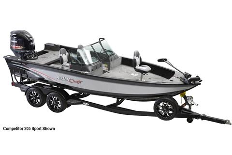 2019 Alumacraft Competitor 205 CS in Hutchinson, Minnesota
