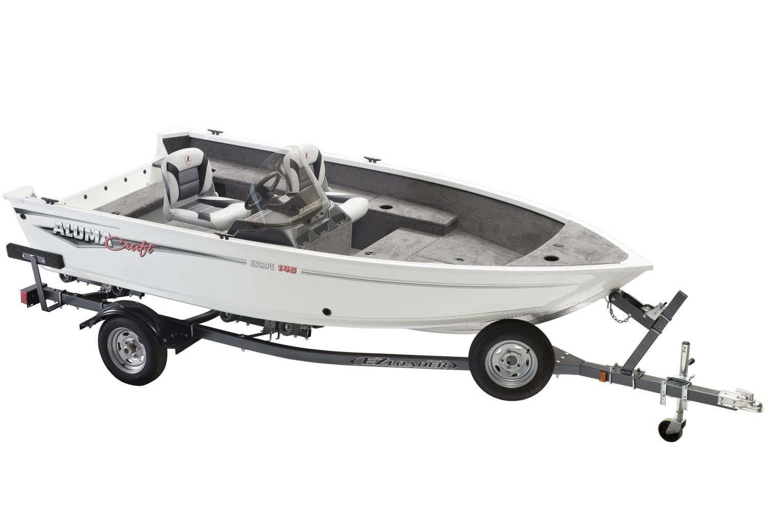 2019 Alumacraft Escape 145 CS in Lakeport, California