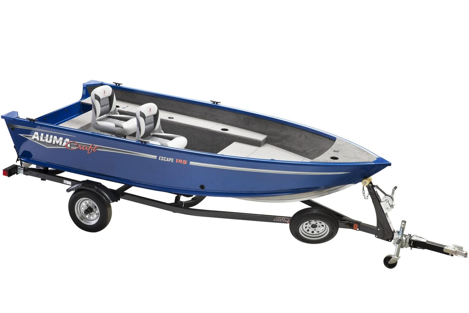 2019 Alumacraft Escape 145 Tiller in Lakeport, California