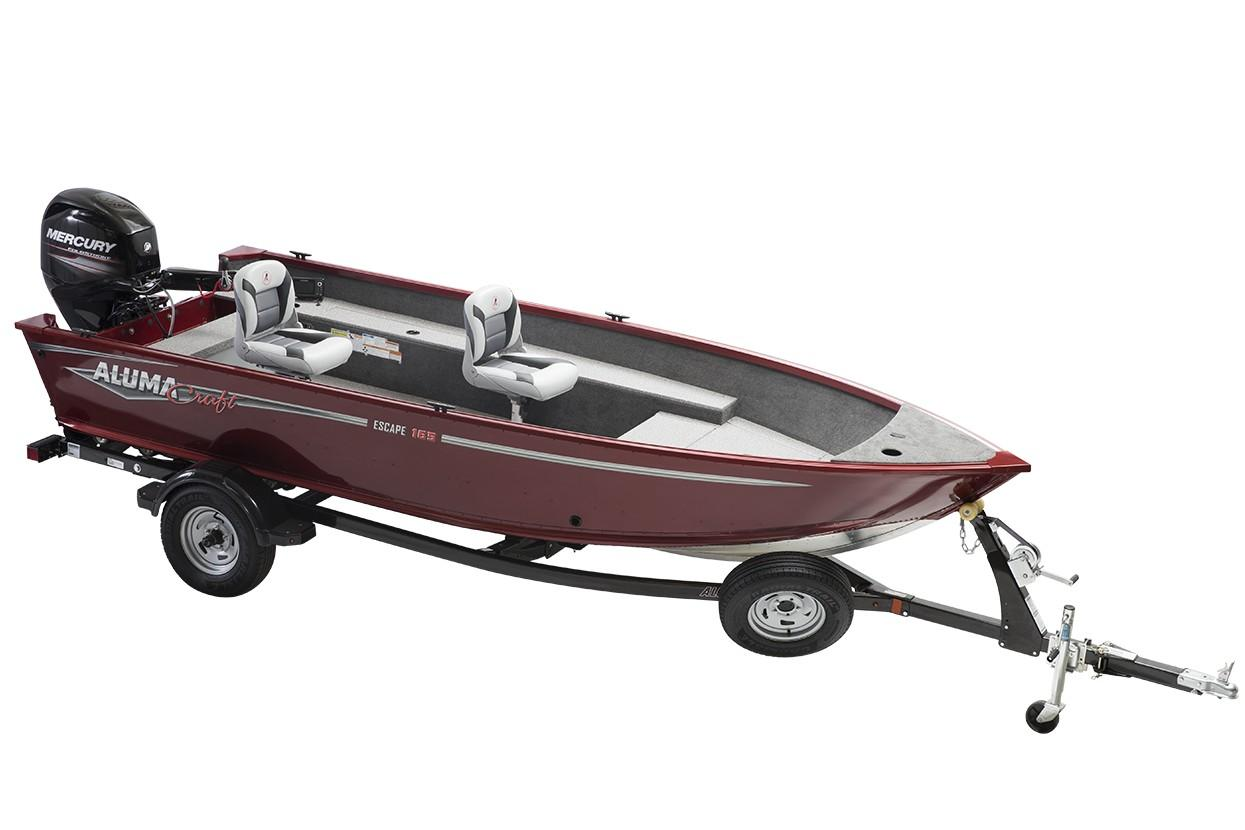 2019 Alumacraft Escape 165 Tiller in Newberry, South Carolina